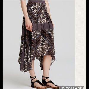 NWT Free People Paradise Midi Skirt